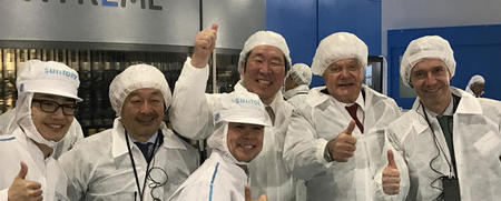 First SIPA XTREME platform for lightweight PET preforms is completed in special ceremony at Suntory
