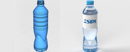 为品牌饮料商提供专业的瓶形设计